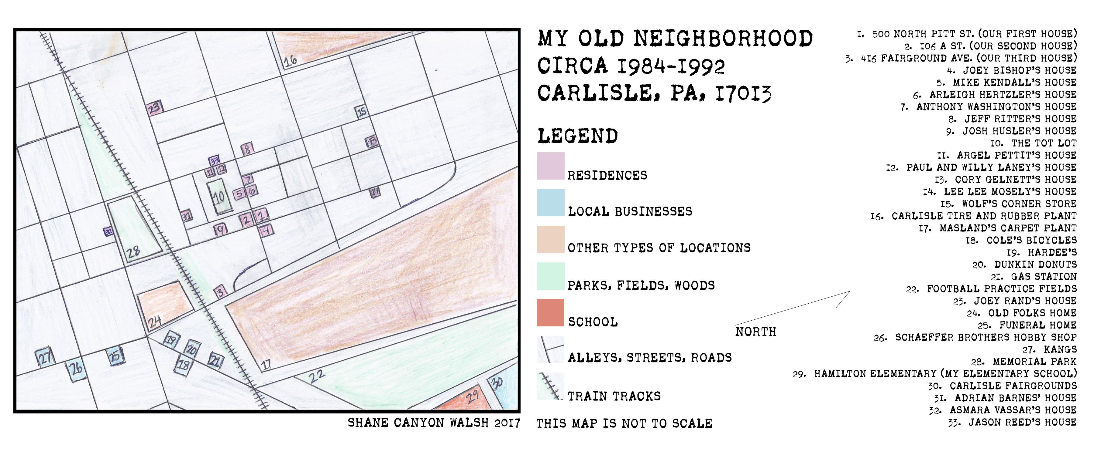 my old neighborhood